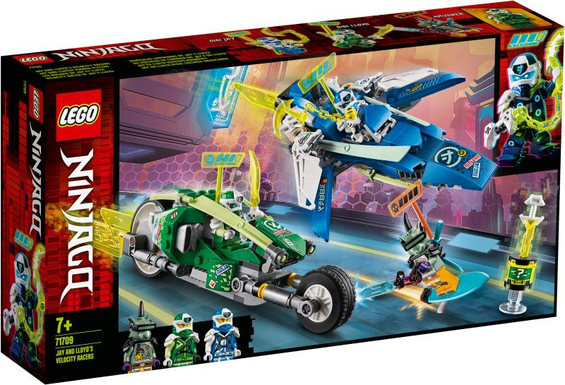 NINJAGO 71709 Jay and Lloyds Velocity Racers