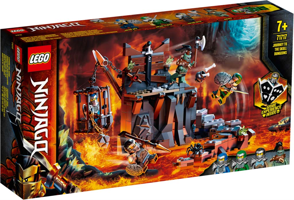 NINJAGO 71717 Journey to the Skull Dungeons