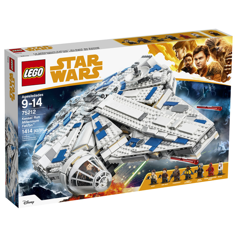 Star Wars 75212 Kessel Run Millennium Falcon