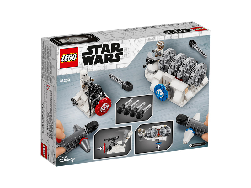 Star Wars™ 75239 Action Battle Hoth Generator Attack