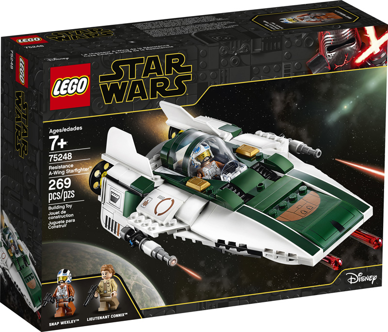 Star Wars™ 75248 Resistance A Wing Starfighter
