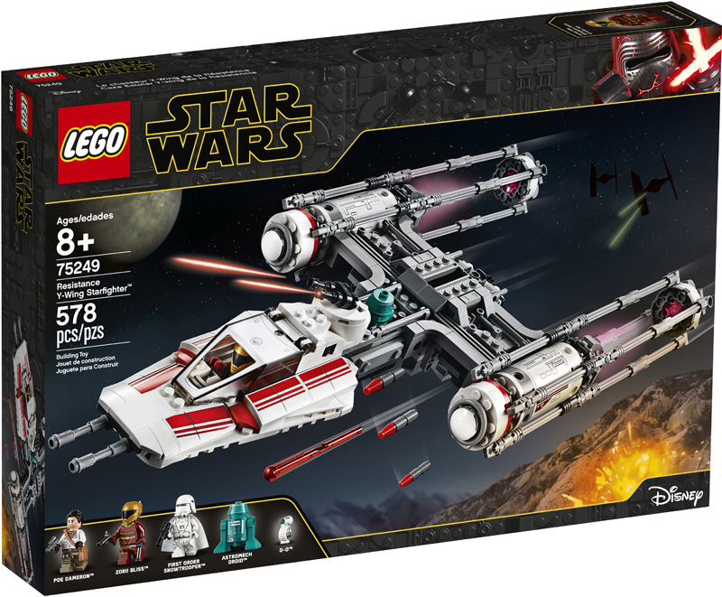 Star Wars™ 75249 Resistance Y Wing Starfighter