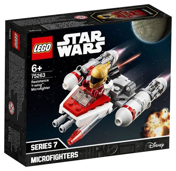 Star Wars™ 75263 Resistance Y-wing Microfighter