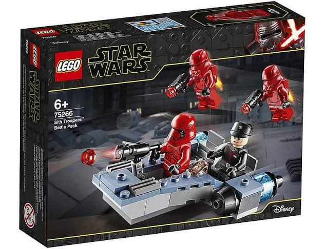 Star Wars™ 75266 Sith Troopers Battle Pack