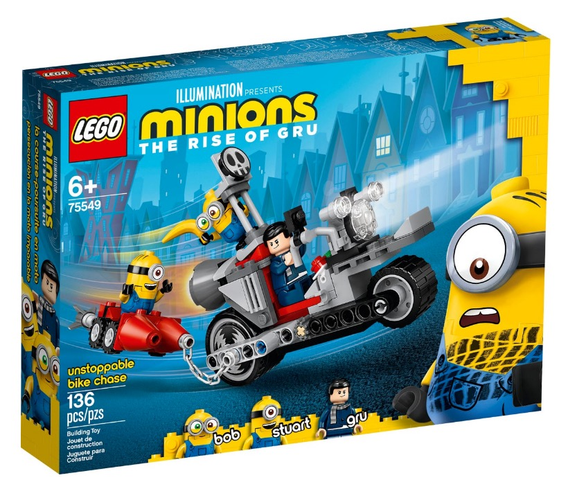 LEGO® Minions 75549 Unstoppable Bike Chase