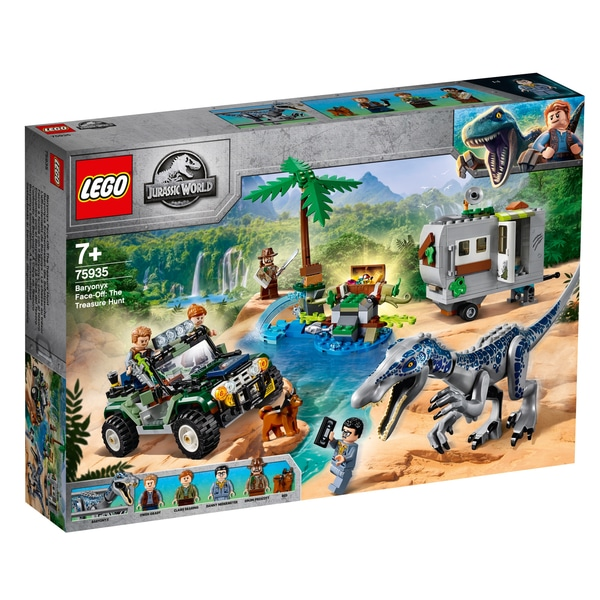 Jurassic World 75935 Baryonyx Face Off The Treasure Hunt