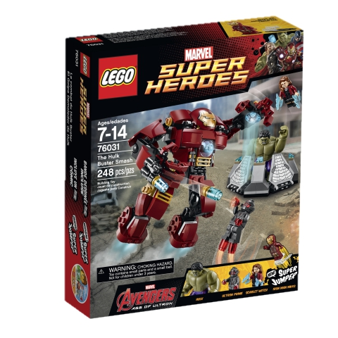 LEGO Super Heroes 76031 The Hulk Buster Smash