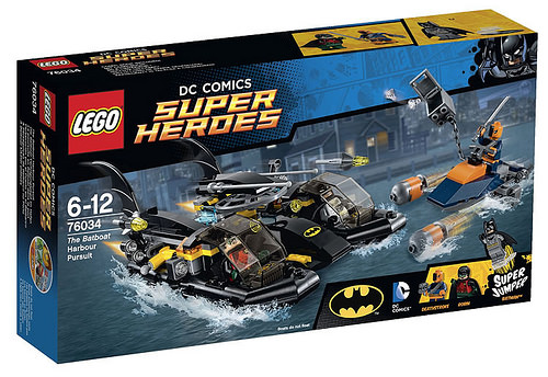 Super Heroes 76034 The Batboat Harbor Pursuit