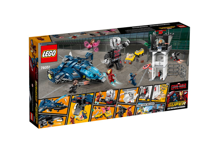 LEGO Super Heroes 76051 Super Hero Airport Battle