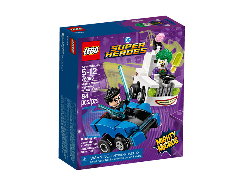 Super Heroes 76093 Might Micros Nightwing vs The Joker