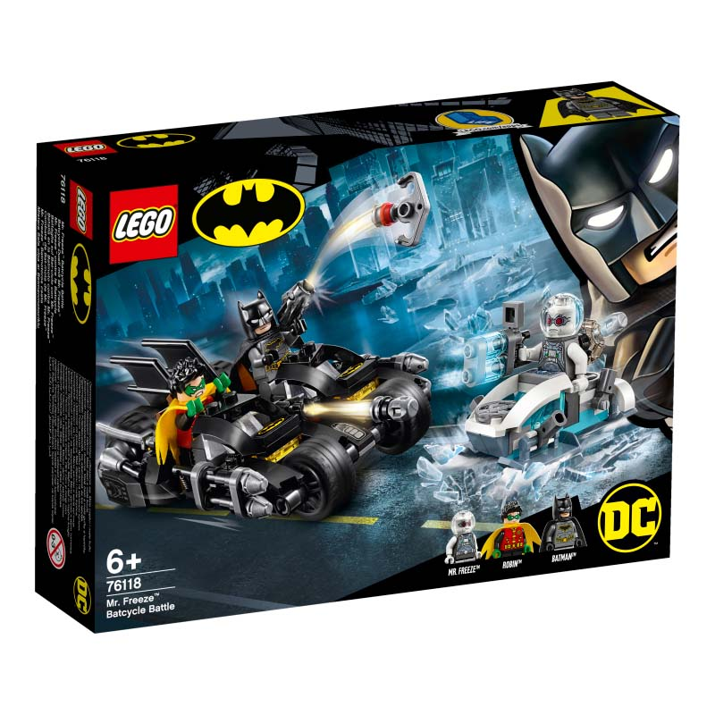 Super Heroes 76118 Mr Freeze Batcycle Battle