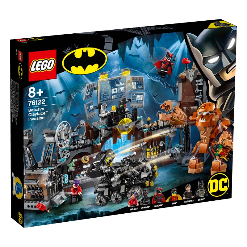 Super Heroes 76122 Batcave Clayface Invasion
