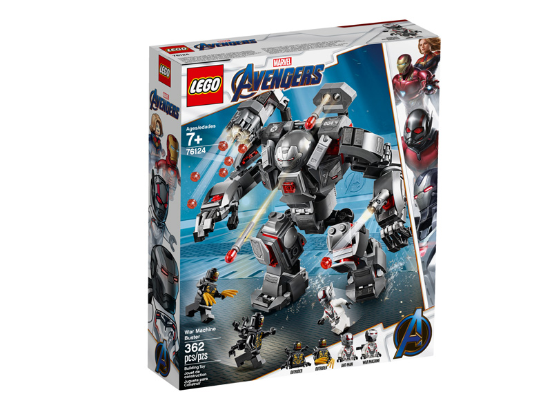 LEGO® 76124 War Machine Buster