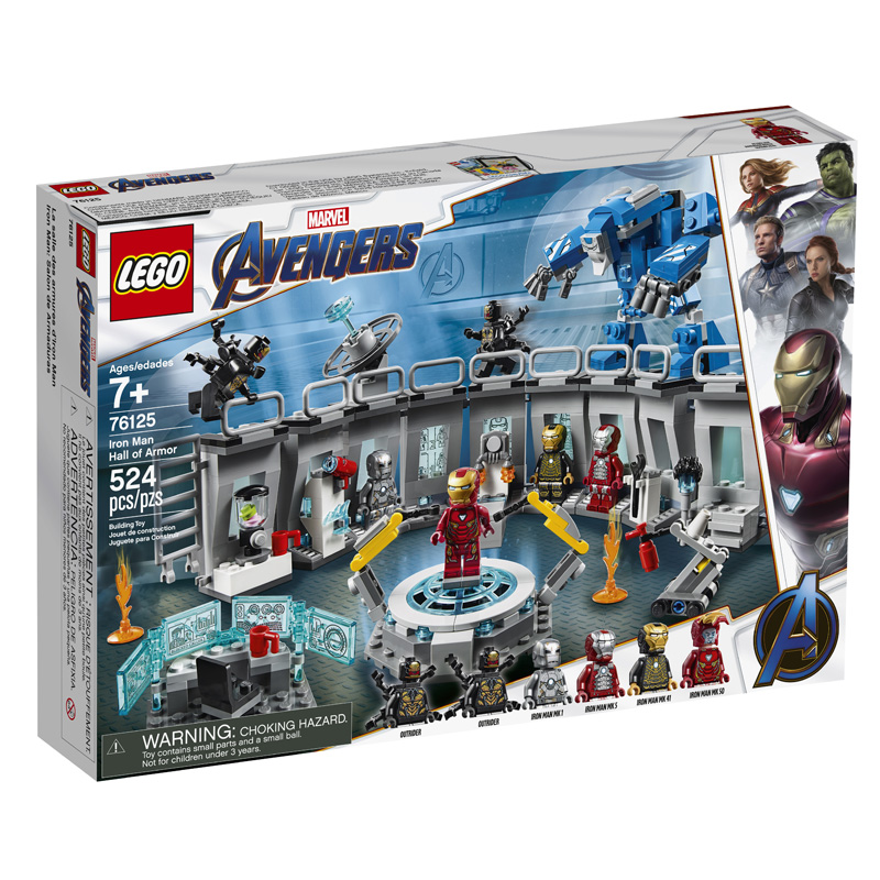 LEGO® 76125 Iron Man Hall of Armor