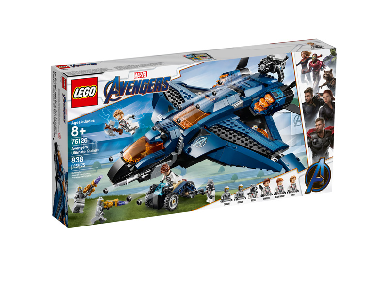 LEGO® 76126 Avengers Ultimate Quinjet