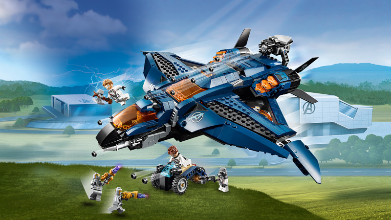 LEGO® 76126 Avengers Ultimate Quinjet [76126] - $83 99