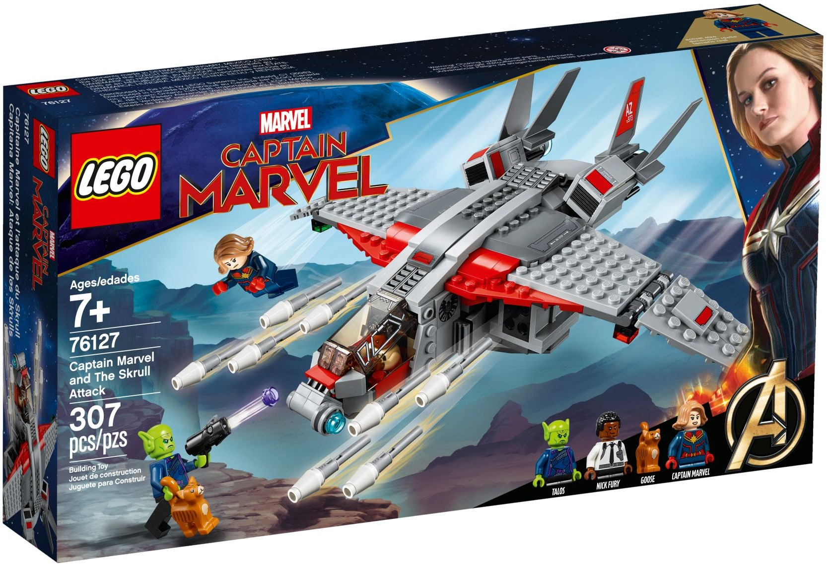 LEGO® 76127 Captain Marvel and The Skrull Attack