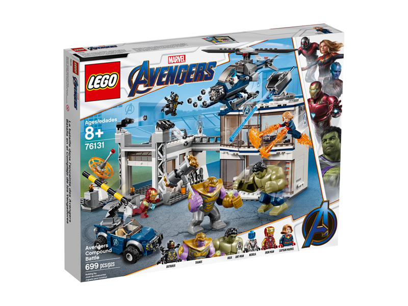LEGO® 76131 Avengers Compound Battle