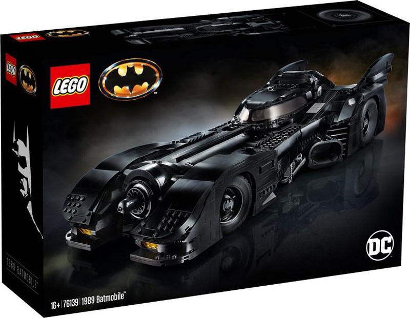 Super Heroes 76139 1989 Batmobile