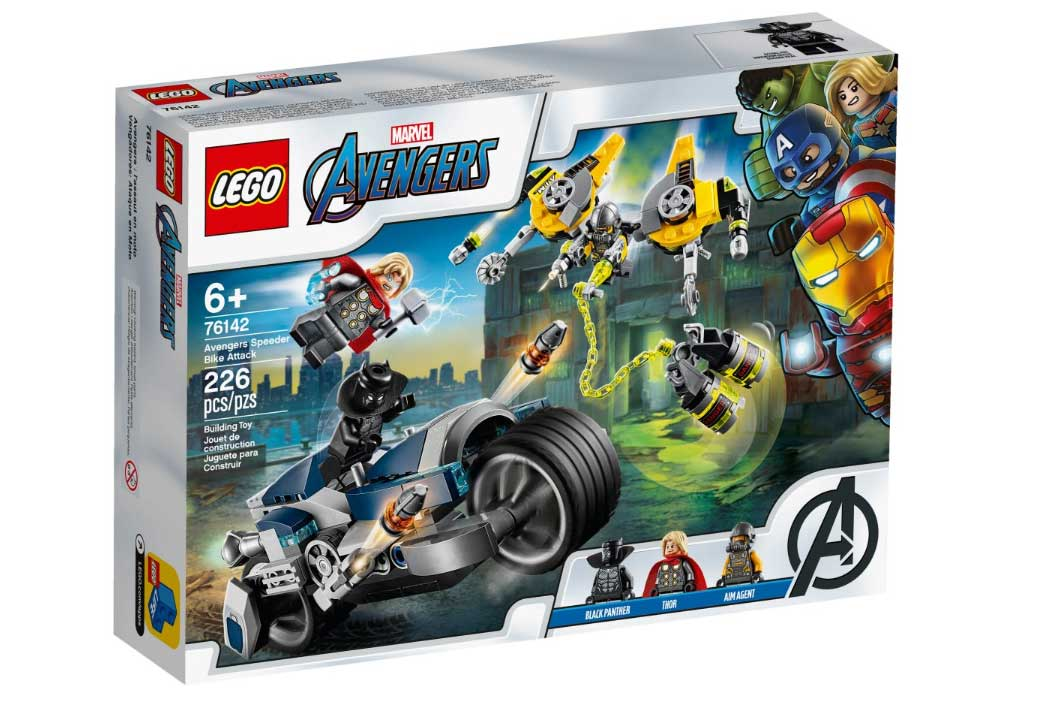 LEGO® 76142 Avengers Speeder Bike Attack