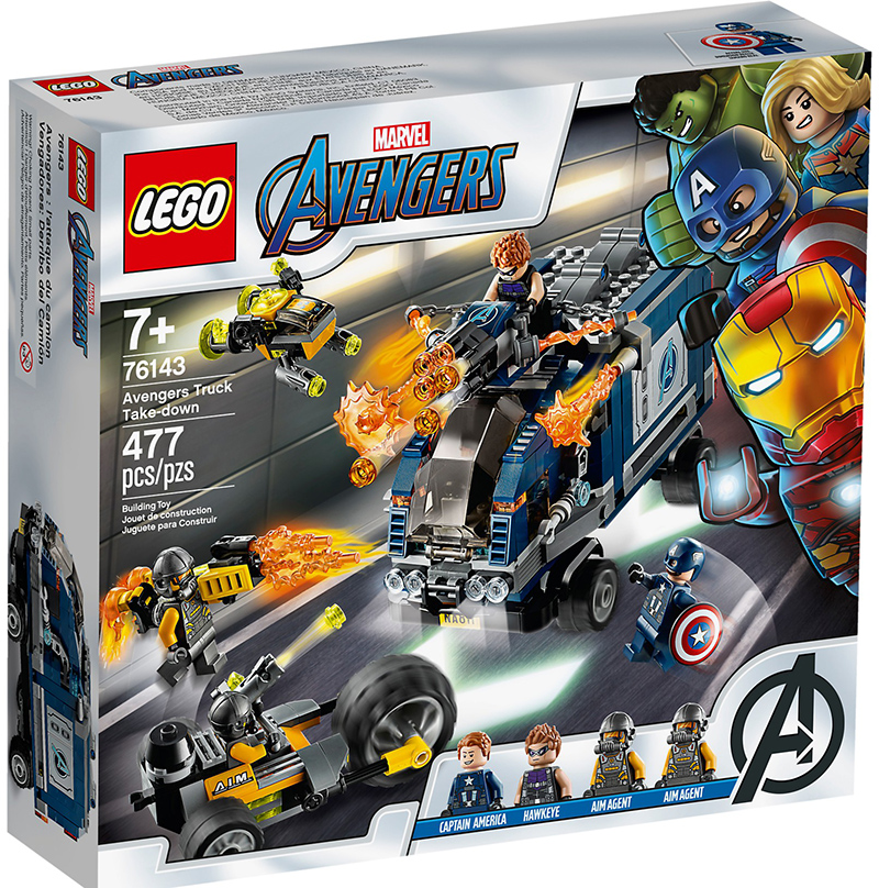 LEGO® 76143 Avengers Truck Take down