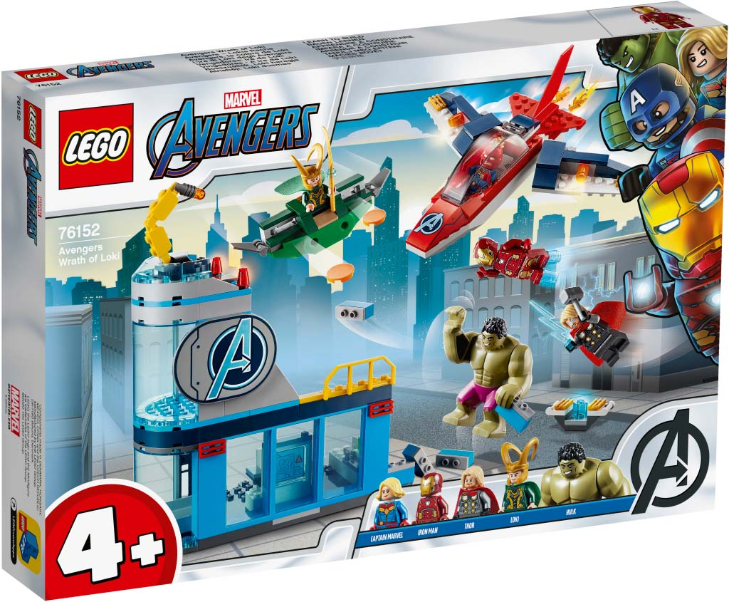 LEGO® 76152 Avengers Wrath of Loki