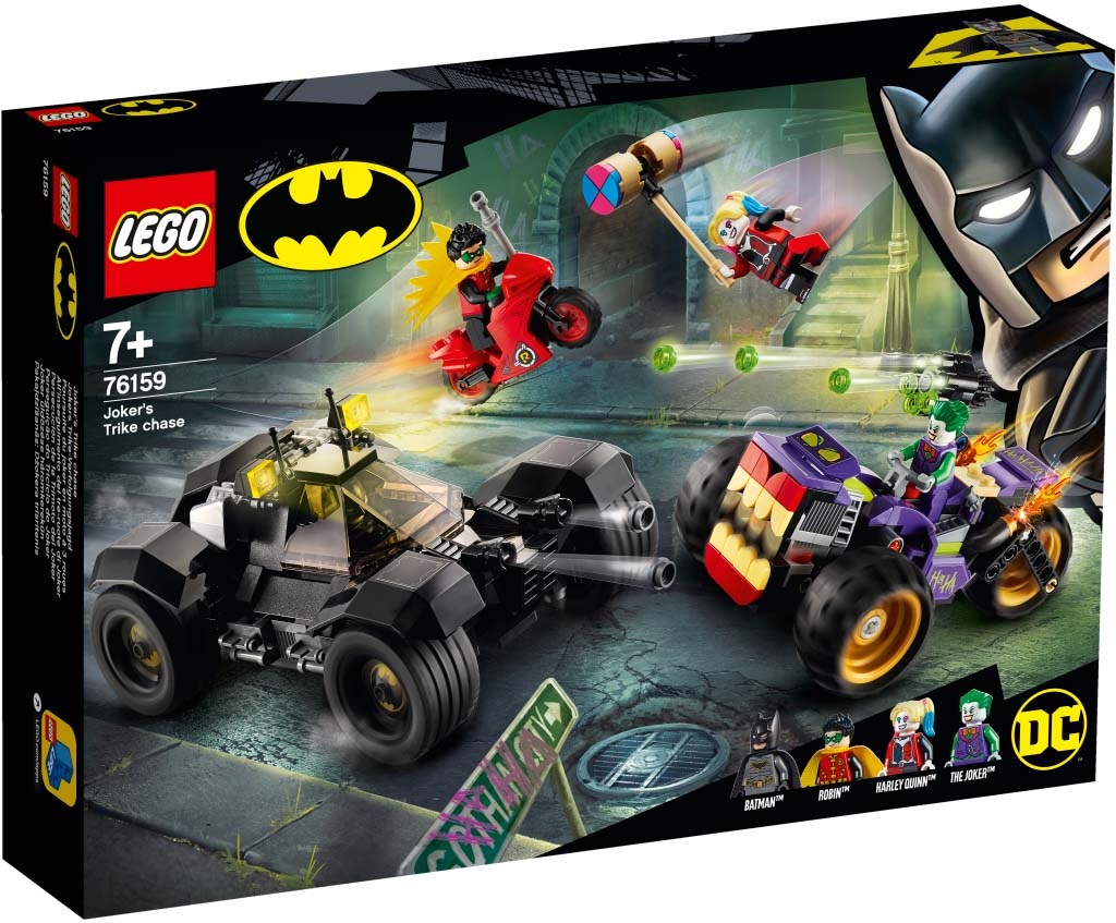 Super Heroes 76159 Jokers Trike Chase