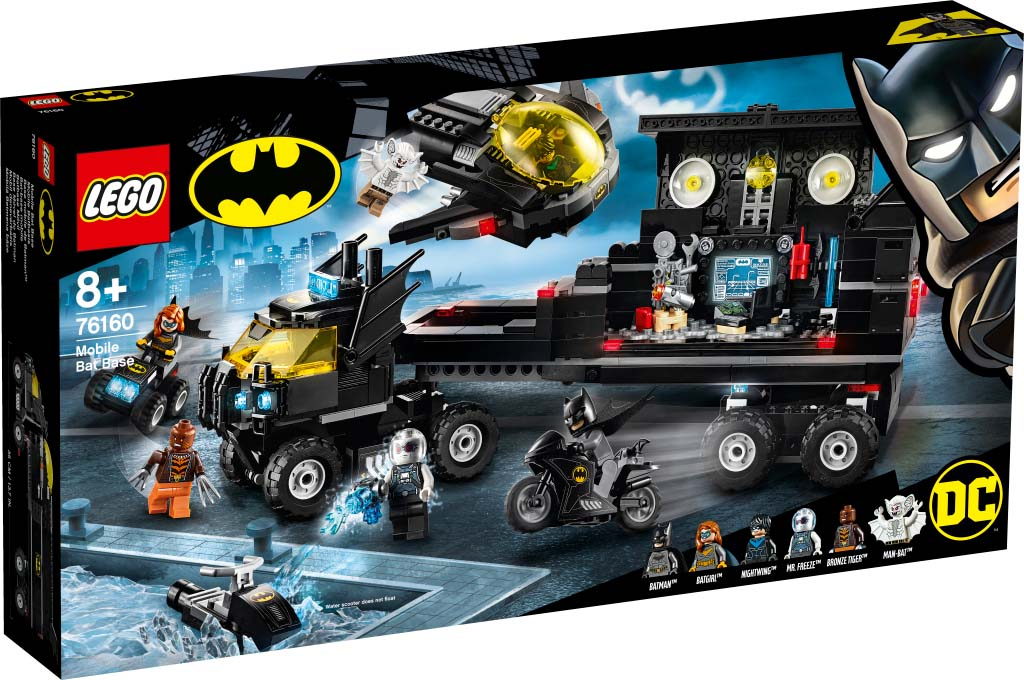 Super Heroes 76160 Mobile Bat Base