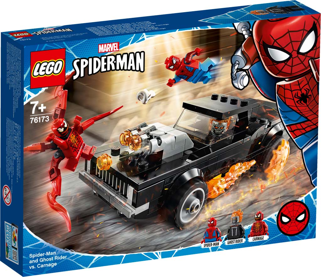 76173 Spider-Man and Ghost Rider vs. Carnage