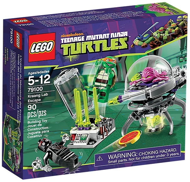 LEGO® TMNT Kraang Lab Escape 79100 damaged