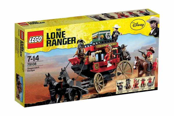 LEGO® The Lone Ranger™ Stagecoach Escape 79108