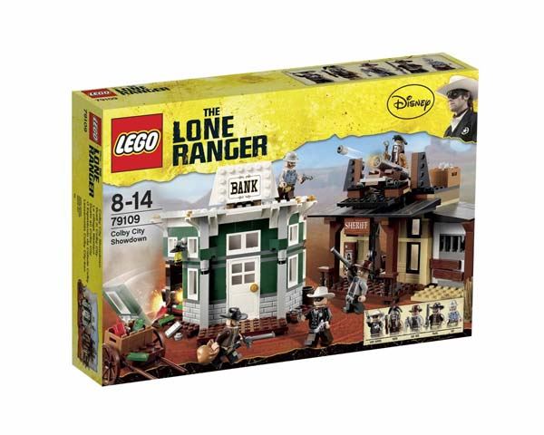 LEGO® The Lone Ranger™ Colby City Showdown 79109