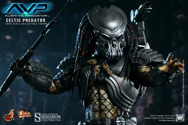 Alien vs Predator Celtic Predator Hot Toys MMS221