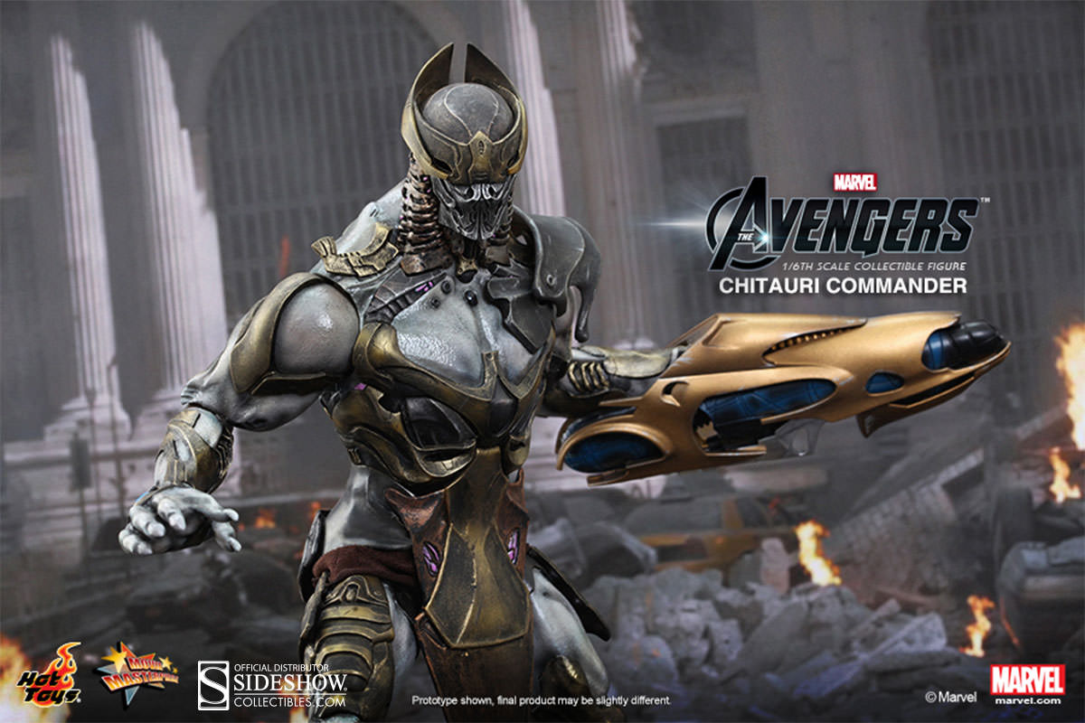 Avengers Chitauri Commander by Hot Toys MMS227