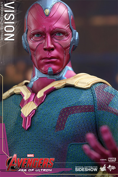 Avengers Age of Ultron Vision Hot Toys MMS296
