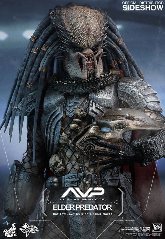 Elder Predator AVP Sixth Scale Figure by Hot Toys MMS233