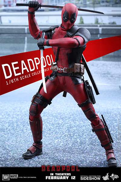 Deadpool Sixth Scale Figure by Hot Toys MMS347