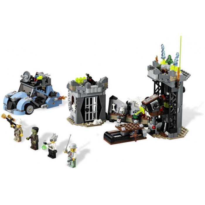 LEGO The Crazy Scientist & His Monster 9466