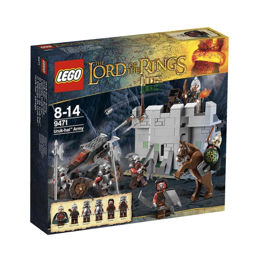 LEGO ® The Lord of the Rings Uruk-hai Army 9471