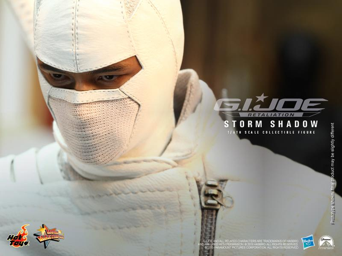 Storm Shadow by Hot Toys G.I. Joe Retaliation MMS193