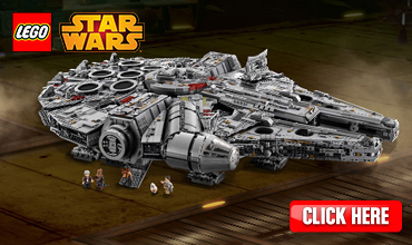 Sale All New! shop now! Millennium Falcon
