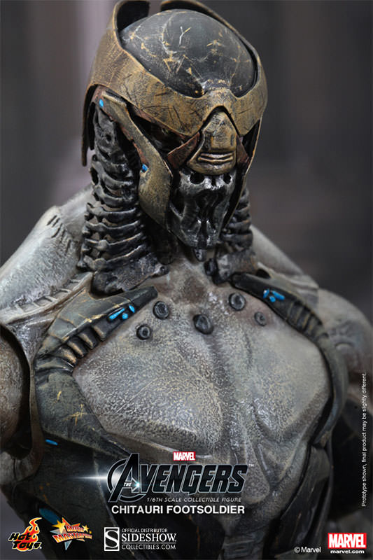 Avengers Chitauri Footsoldier Hot Toys MMS226