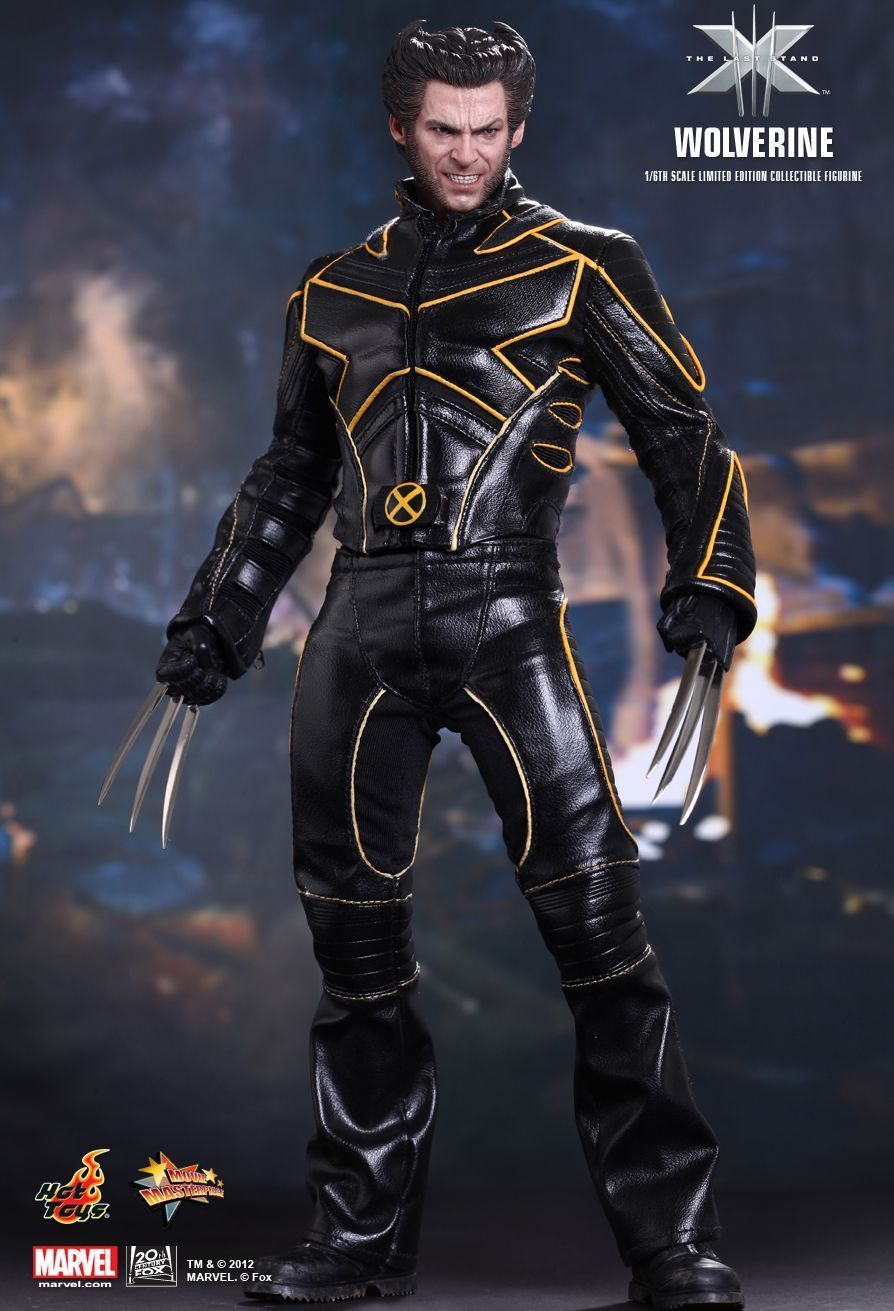 X-MEN THE LAST STAND WOLVERINE HOT TOYS MMS187
